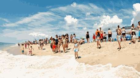 Coopers Beach in Southampton is consistently ranked as
