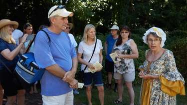 Three Village Historical Society, leads guided walking tours