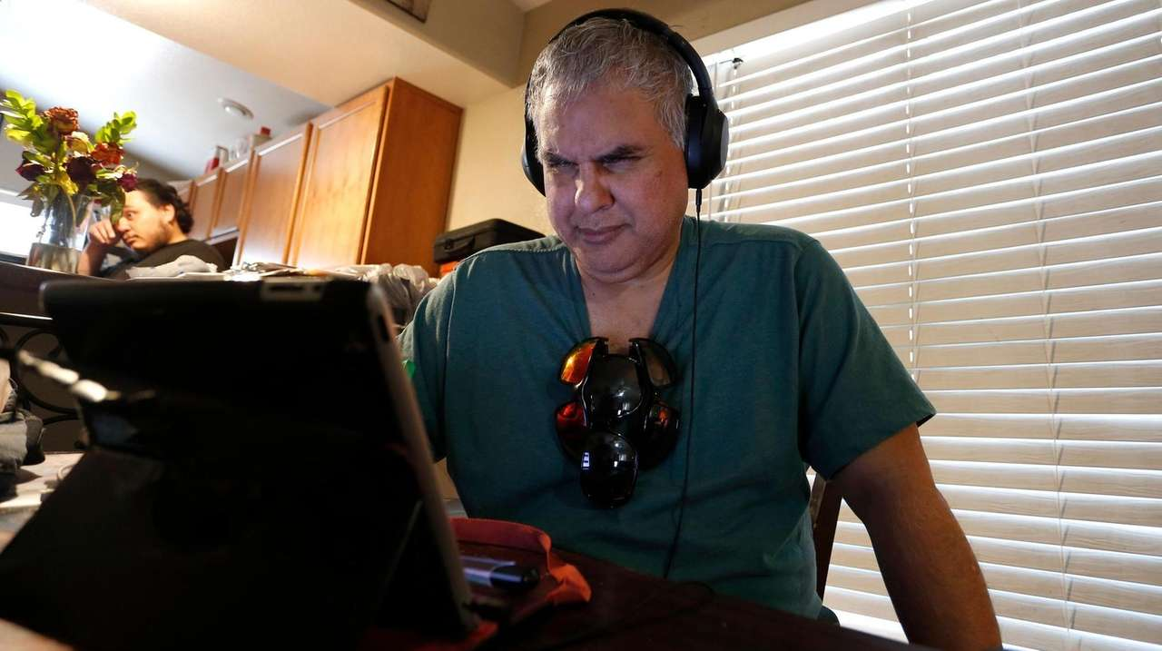 Long Islander Robert Tarango, who is blind and