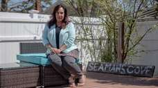 Dina Seaman, of Massapequa Park, said she is