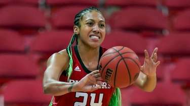 Rutgers' Arella Guirantes (24) is shown during the