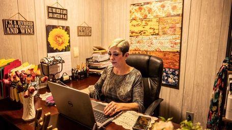 Tammy Matta, pictured at her home in Centereach,