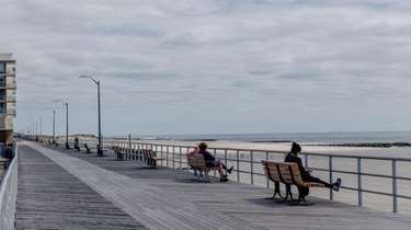 The boardwalk in Atlantic Beach comes to life