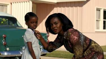 Melody Hurd and Deborah Ayorinde in Amazon Prime