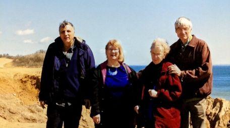 From left, Larry and Joan Moderno, Ann Zablocki