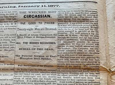 Coverage of the Circassian calamity in the Sag