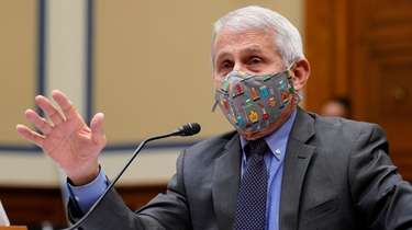 Dr. Anthony Fauci testifies at the Capitol last