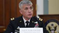Gen. Paul Nakasone, National Security Agency director, at