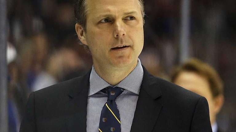 Tampa Bay Lightning head coach Jon Cooper. (April