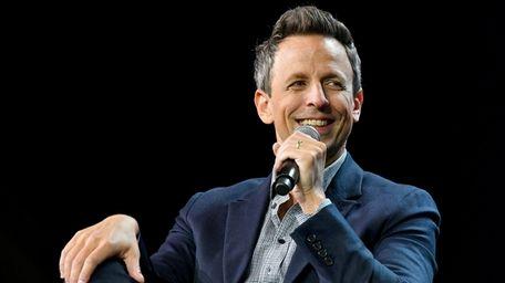 """Late Night"" host Seth Meyers will play Westhampton"
