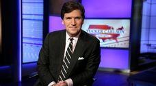 """Tucker Carlson, host of Fox News' """"Tucker Carlson"""