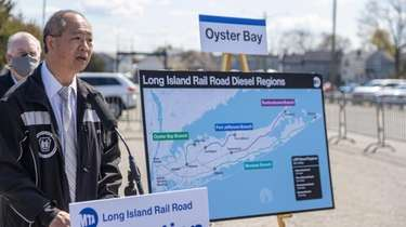 LIRR President Phil Eng announces technology that will