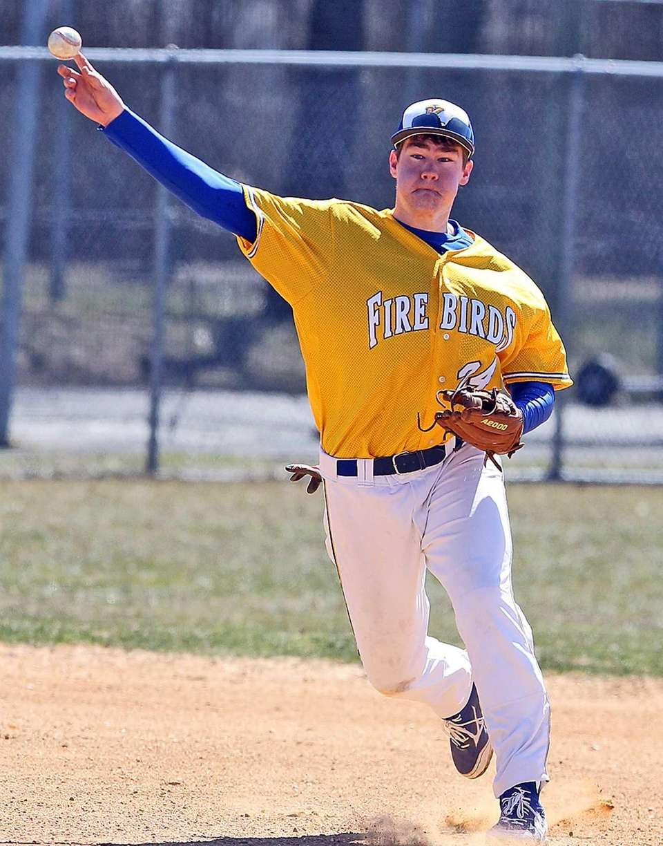 Kellenberg's Dan Eicher, who had the game-winning hit,