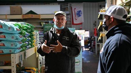 George Starkie, owner of Starkie Brothers Garden Center