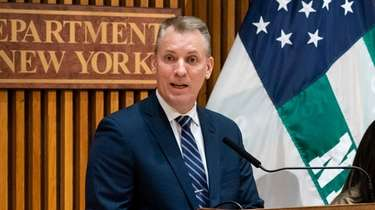 NYPD Commissioner Dermot Shea said Tuesday that new