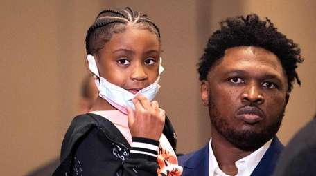 Gianna Floyd, the late George Floyd's 7-year-old daughter,