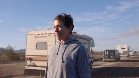 """Frances McDormand in """"Nomadland,"""" which won Best Picture"""