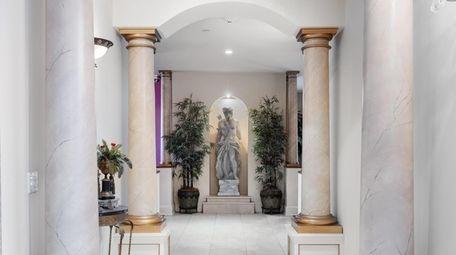 Inside the house