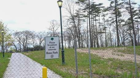 Ross Memorial Park on Brentwood Road in Brentwood