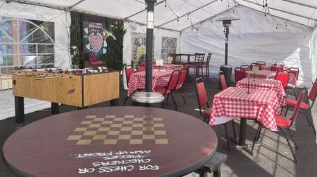 Prince Umberto's in Franklin Square set up a