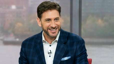 """ESPN's Mike Greenberg on the set of """"Get"""