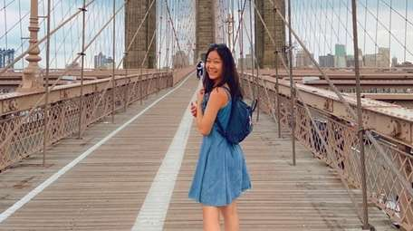 Melody Luo, a junior at Commack High School,