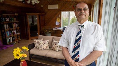 Dr. Edgar Borrero said his affinity for volunteerism