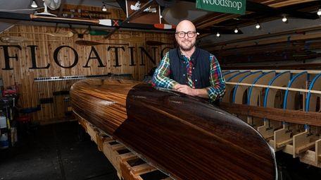 Trent Preszler, CEO of Bedell Cellars in Cutchogue,