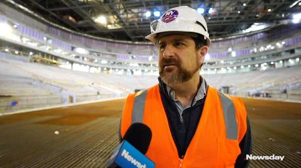 Andrew Gross on tour at the UBS Arena