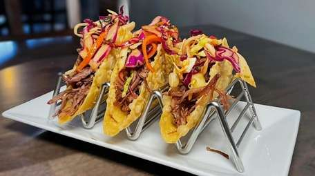Duck confit tacos at Avenue in Bellmore.
