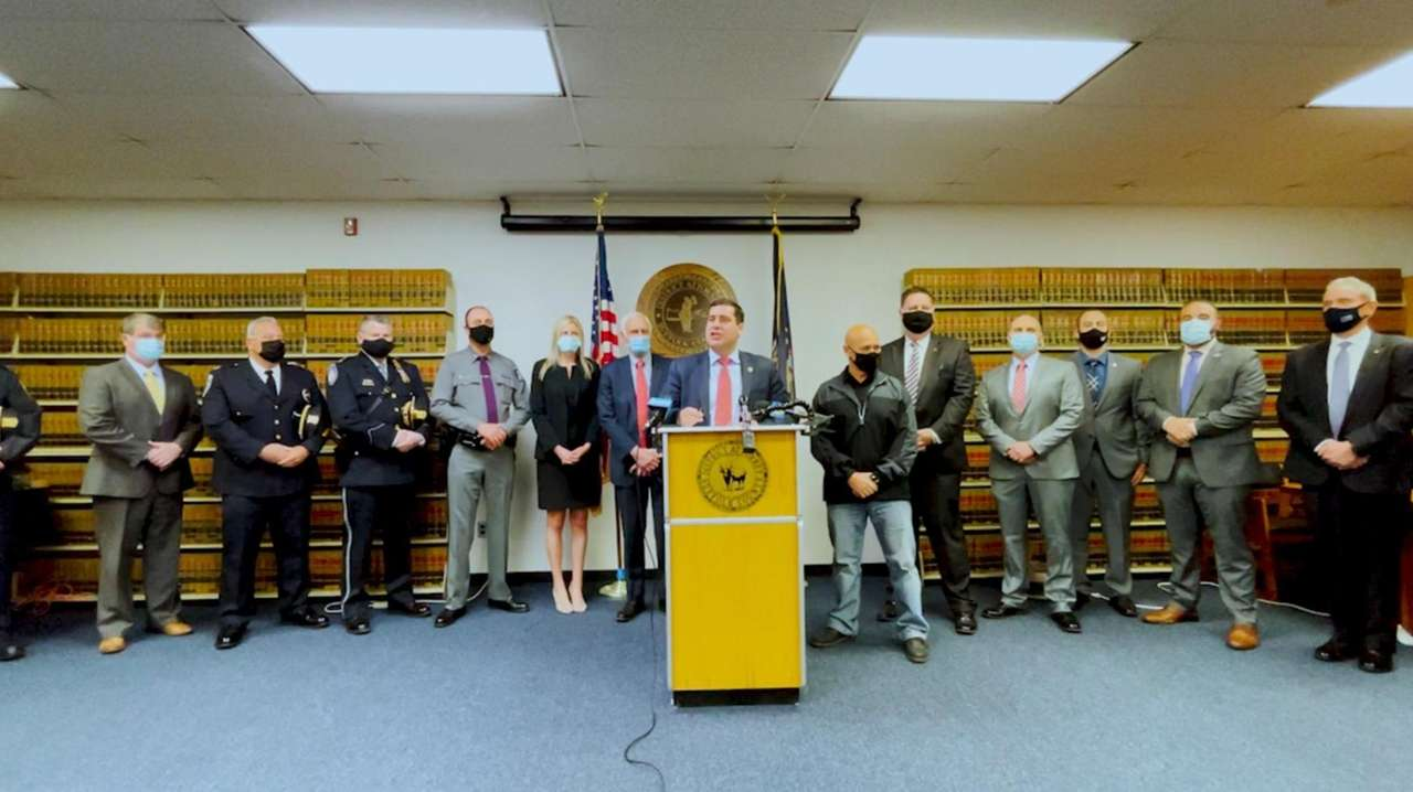 The Suffolk District Attorney's Office of Friday announced