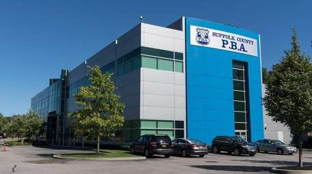 The Suffolk PBA building in Brentwood, shown in