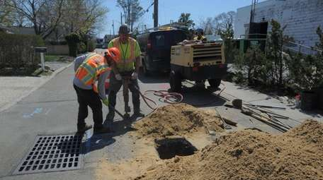 Once the multimillion-dollar sewer project is complete, Westhampton