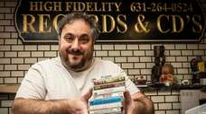 Marc Sendik, owner of Amityville's High Fidelity Records