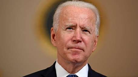 President Joe Biden on April 20 at the