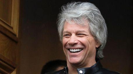 Jon Bon Jovi and his band are shooting