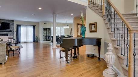 This four-bedroom, 3.5-bath house in Bay Shore, listed