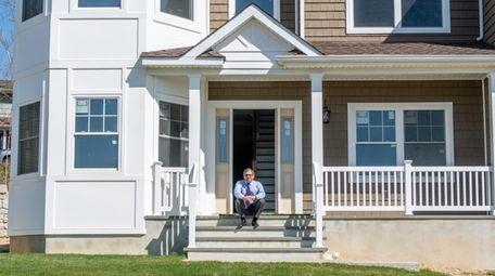 Toretta Estates builder James Vilardi at his Farmingdale