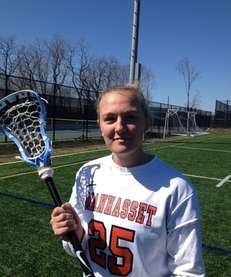 Manhasset defender Alice Coughlin (April 6, 2013)
