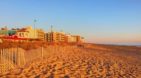Rehoboth Beach is a city on the Atlantic