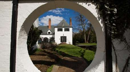 The Chelsea Mansion in Muttontown is pictured Wednesday,