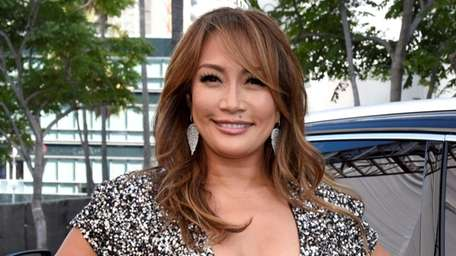 """""""The Talk"""" co-host Carrie Ann Inaba is"""