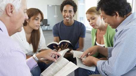 I promise your Bible study group to periodically