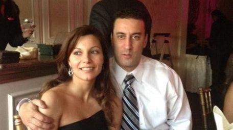 NYPD Officer Anastasios Tsakos and his wife Irene