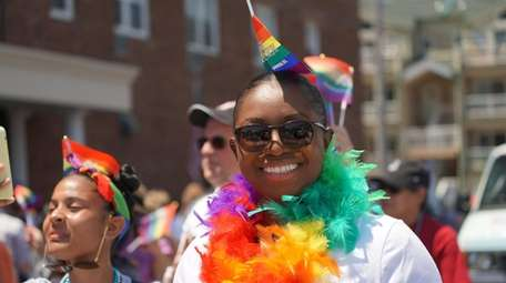 The Long Island Pride Parade in June 2019.