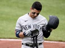 Gleyber Torres of the Yankees was fully vaccinated