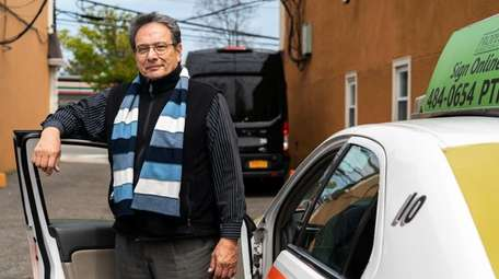 Oscar A. Gonzalez, 72, is a driver for