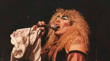 Twisted Sister lead singer Dee Snider, who grew