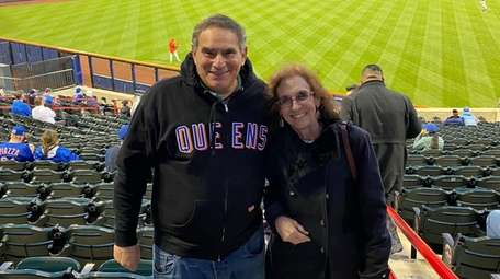 Jeffrey and Claudia Stern rooted for the Mets