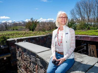 Lucy Cutler, a trustee of the Landcraft Garden